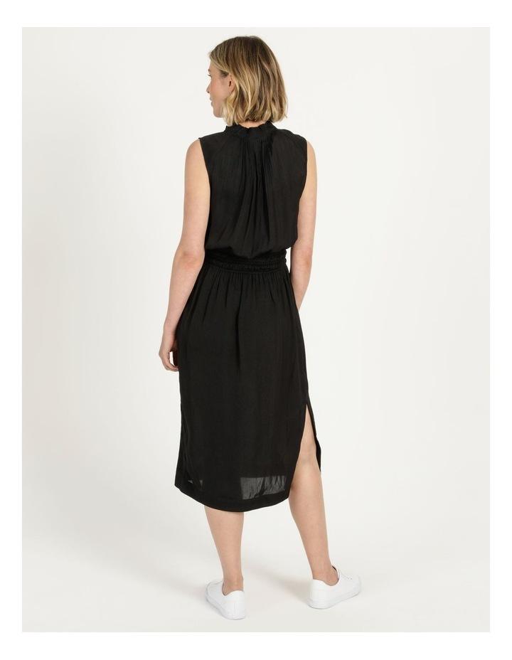 Shirred Waist Midi Dress image 5