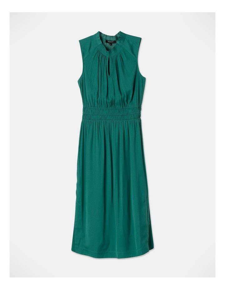 Shirred Waist Midi Dress image 1