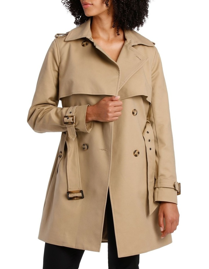 BASIC TRENCH COAT image 1