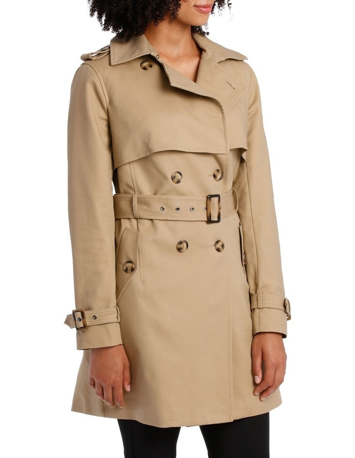 BASIC TRENCH COAT image 2