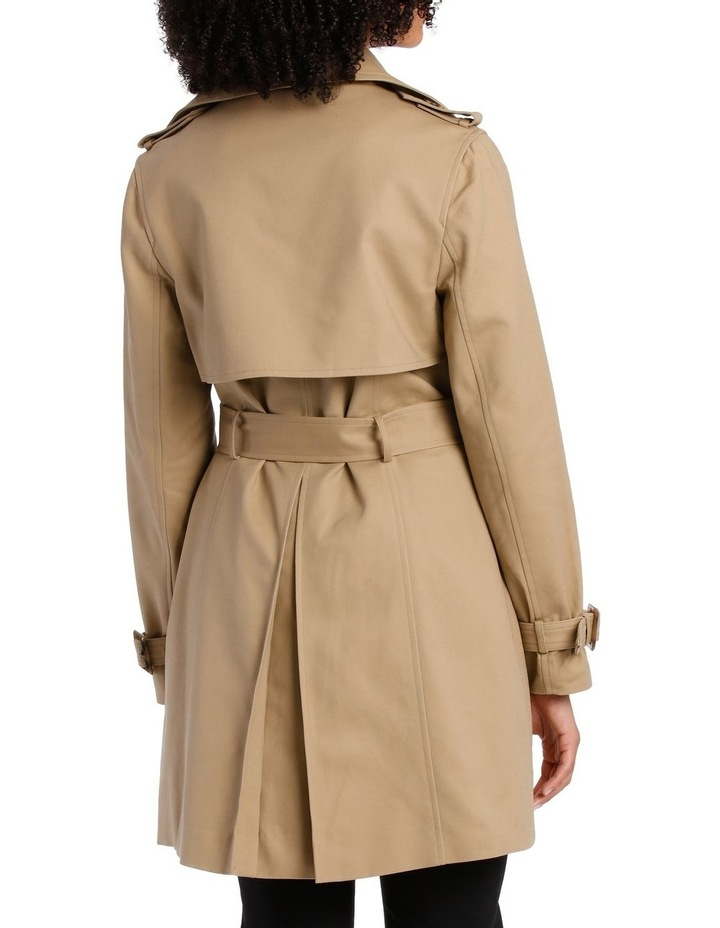 BASIC TRENCH COAT image 3