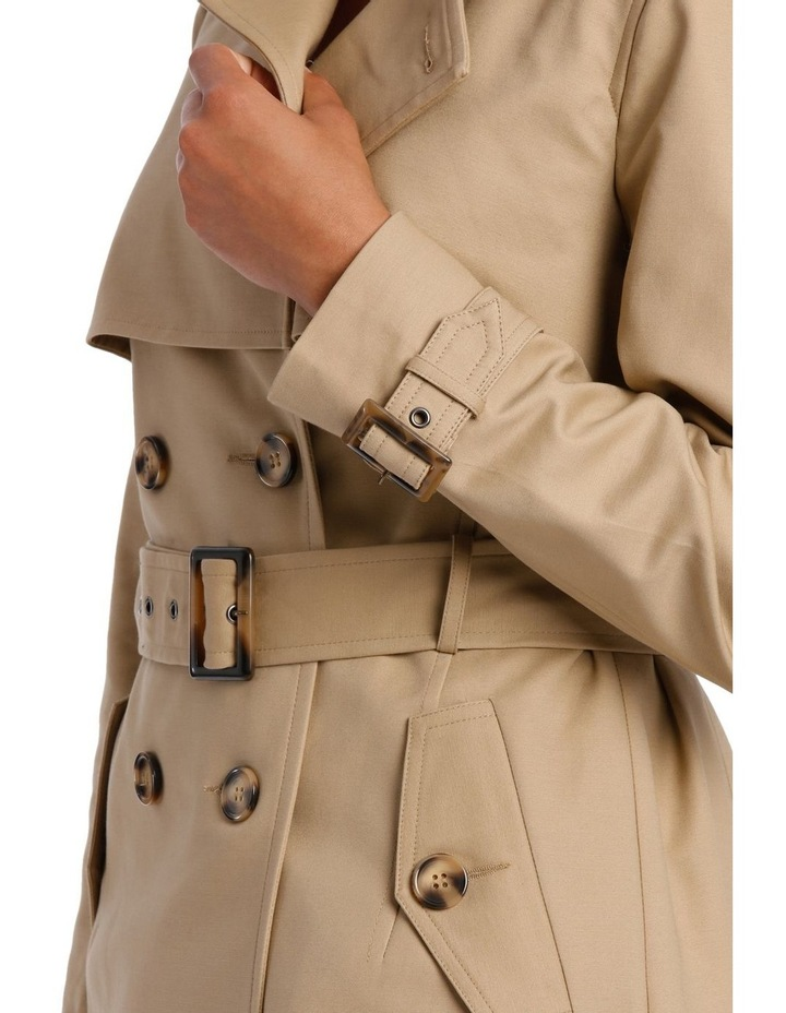 BASIC TRENCH COAT image 4