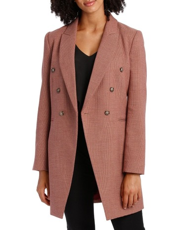 d06bcd43e86df0 Basque Small Check Coat