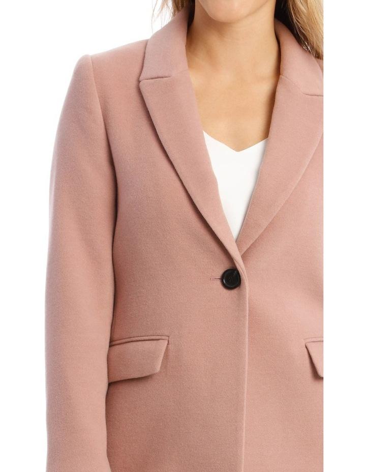 Single Button Coat image 4