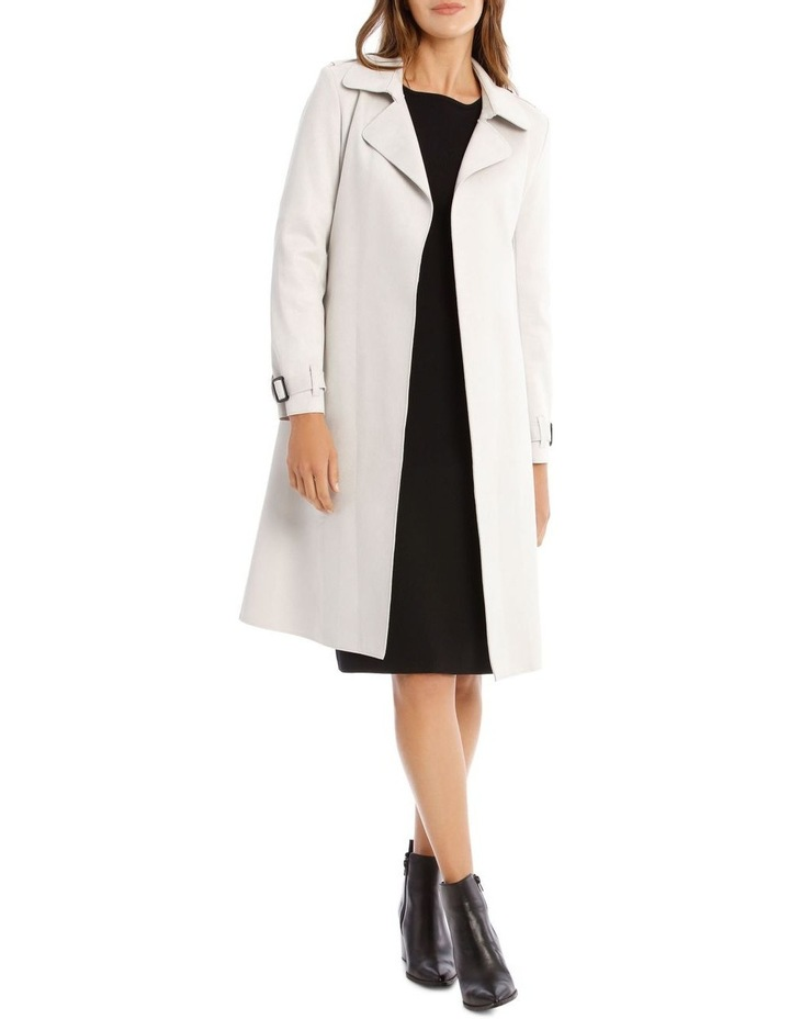 Suedette Trench Coat image 1