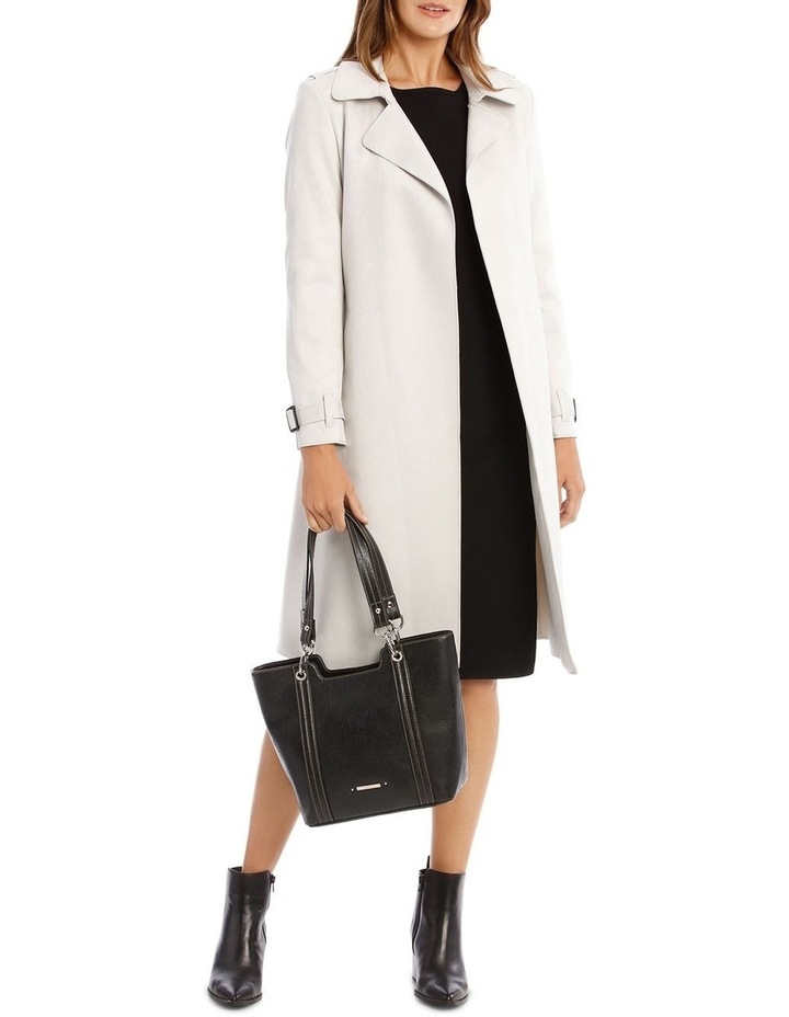 Suedette Trench Coat image 5