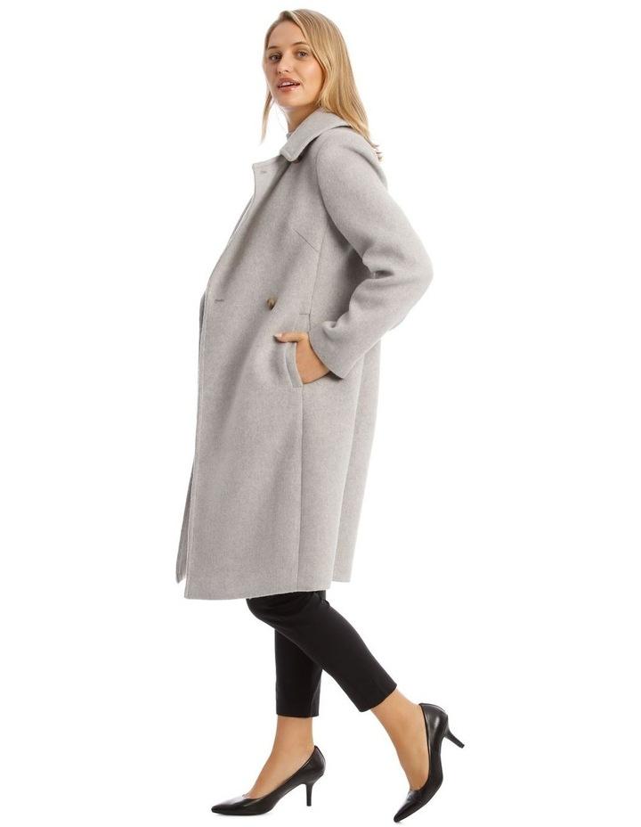 Brushed Longline Coat image 2
