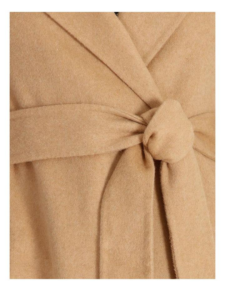 Wool Blend Wrap Coat image 7