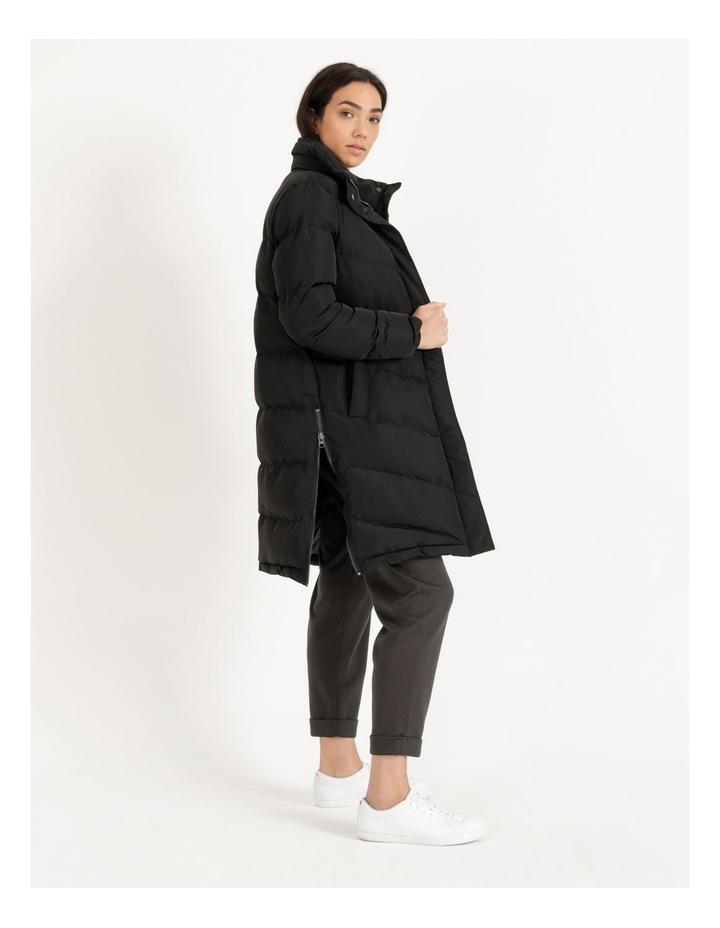 Longline Puffer Coat image 3