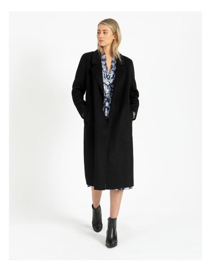 Wool Wrap Self Tie Coat image 1