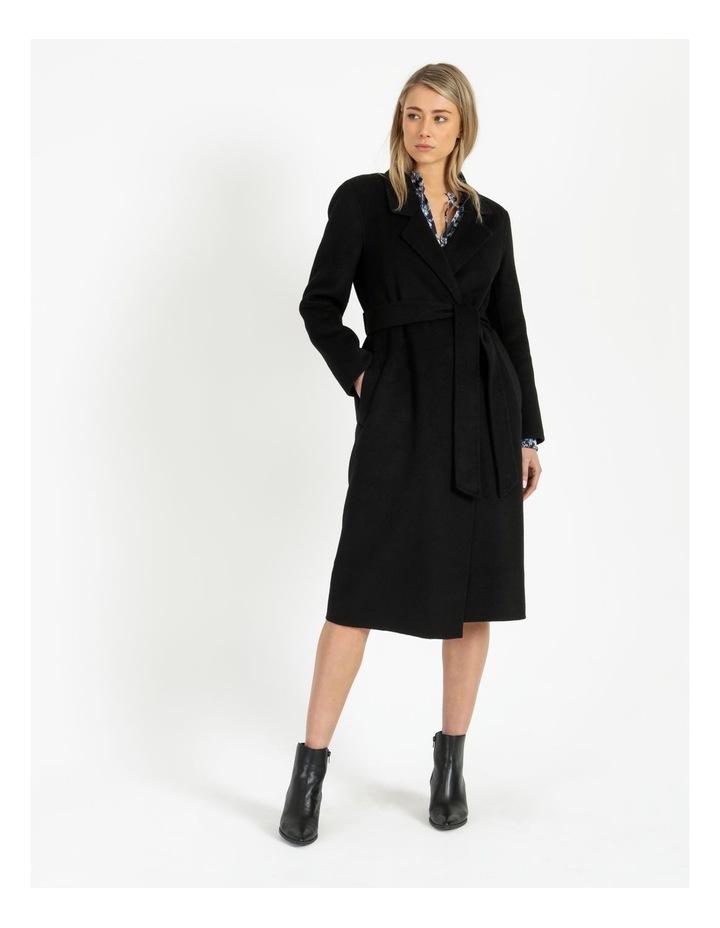 Wool Wrap Self Tie Coat image 2