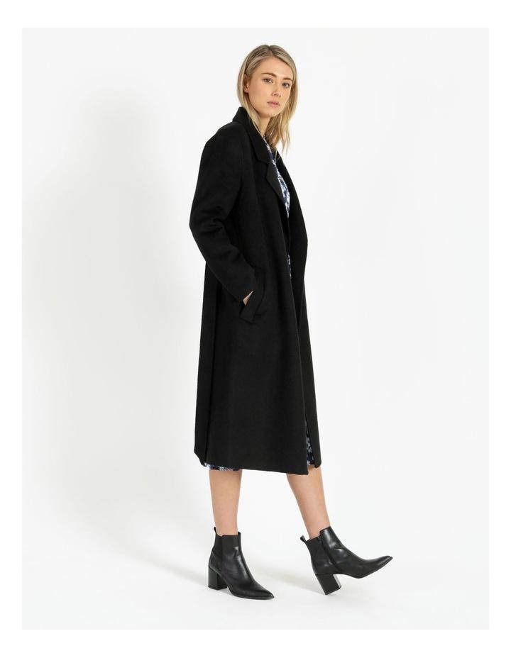 Wool Wrap Self Tie Coat image 3