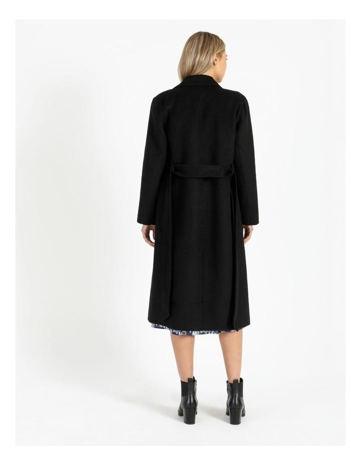 Wool Wrap Self Tie Coat image 4