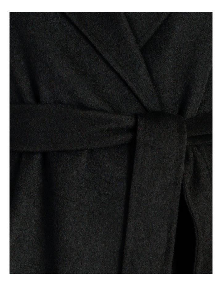 Wool Wrap Self Tie Coat image 6