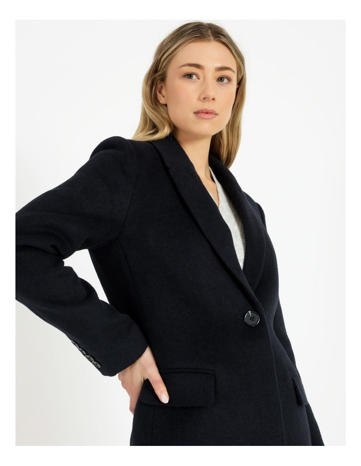 Single Button Coat image 6