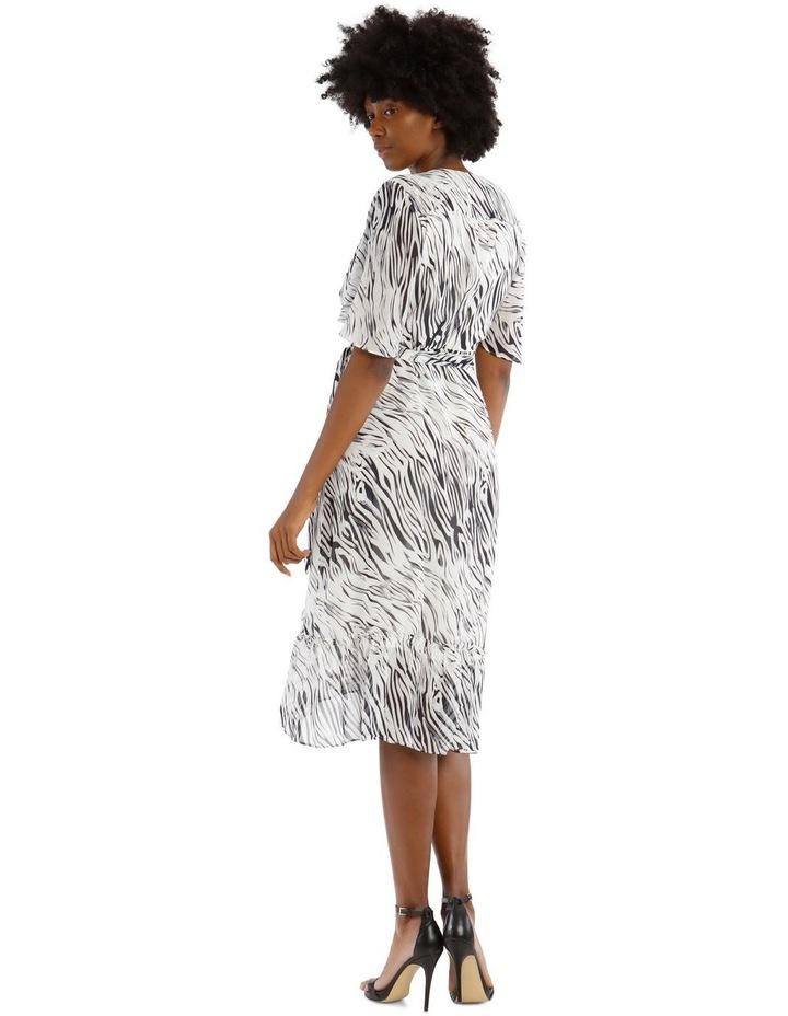 Frill Hem Midi Dress image 3