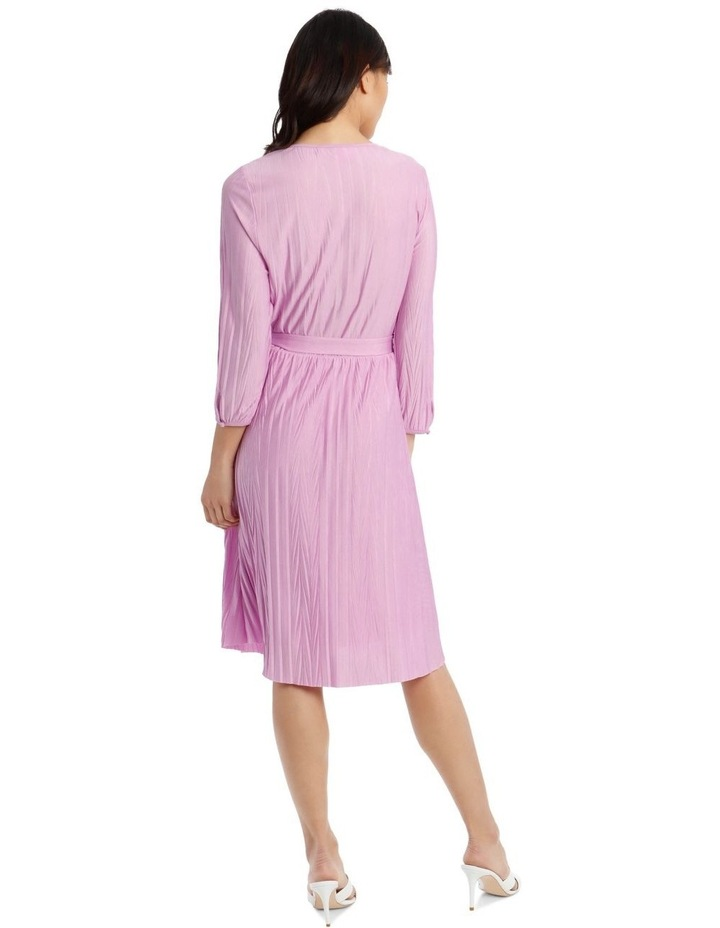 Cross Pleat Dress image 3