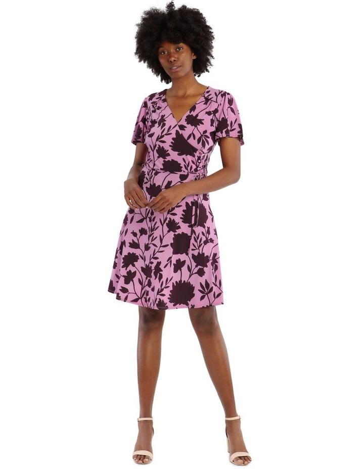 Wrap Flare Dress image 1