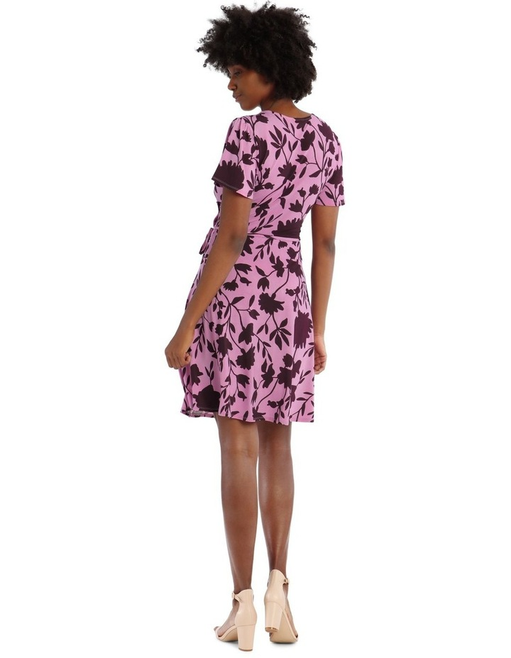 Wrap Flare Dress image 3