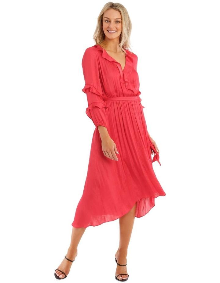 Elastic Waist Ruffle Dress image 1