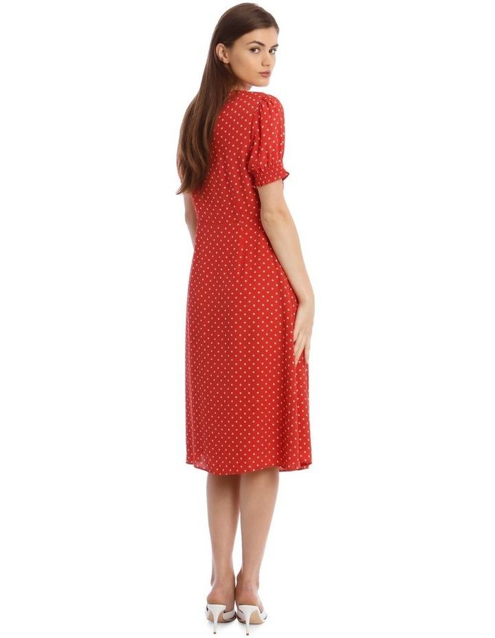 Midi Sweetheart Side Split Dress image 3