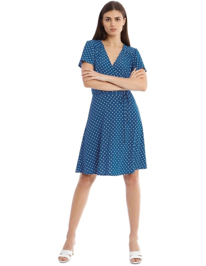 Jersey Wrap Front Dress image 1