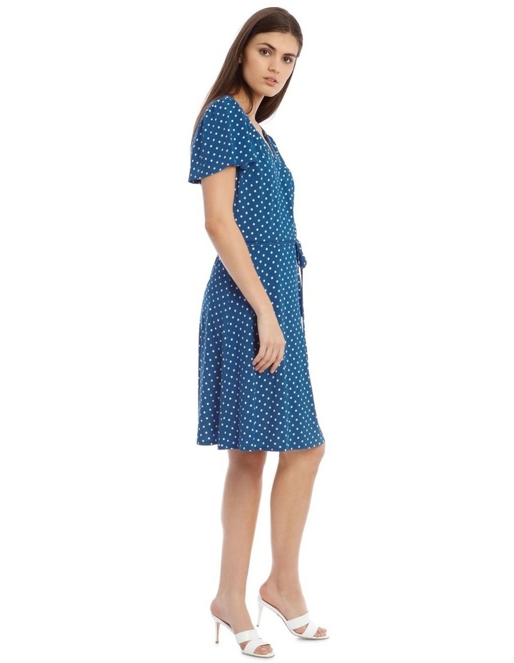 Jersey Wrap Front Dress image 2