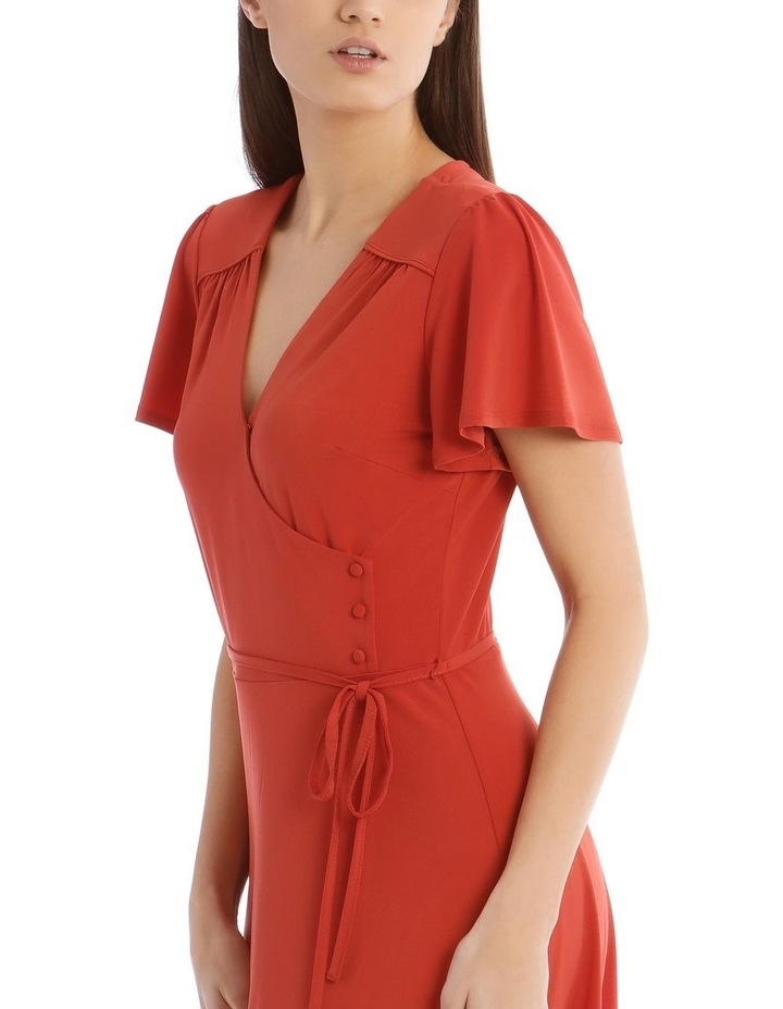 Jersey Wrap Front Dress image 4