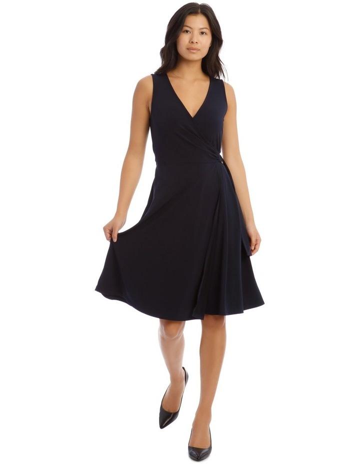 Wrap Midi Dress image 1