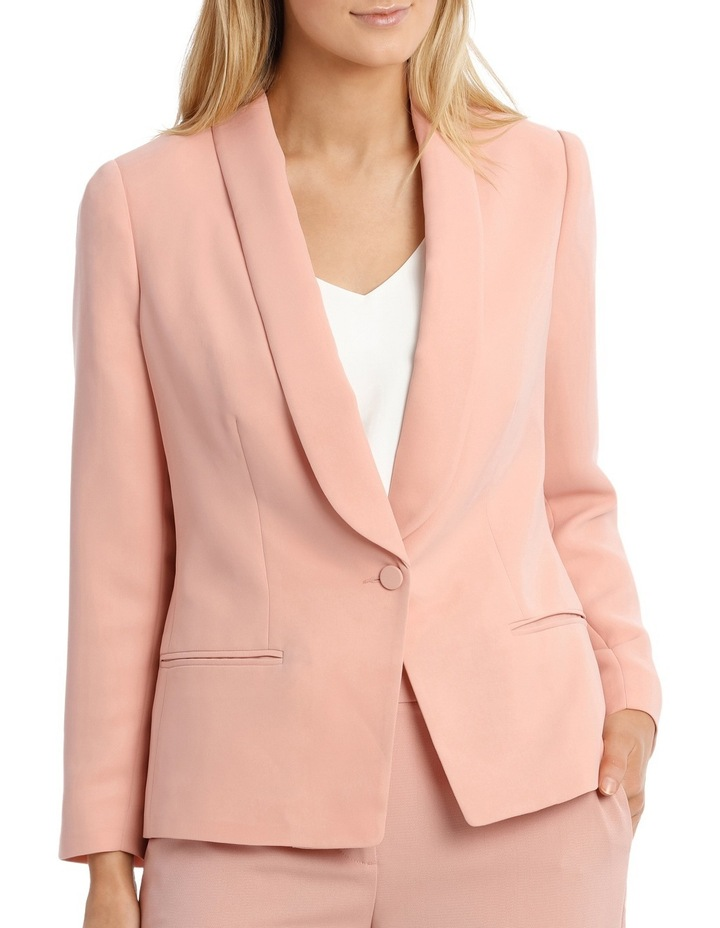 Single Button Tuxedo Jacket image 1
