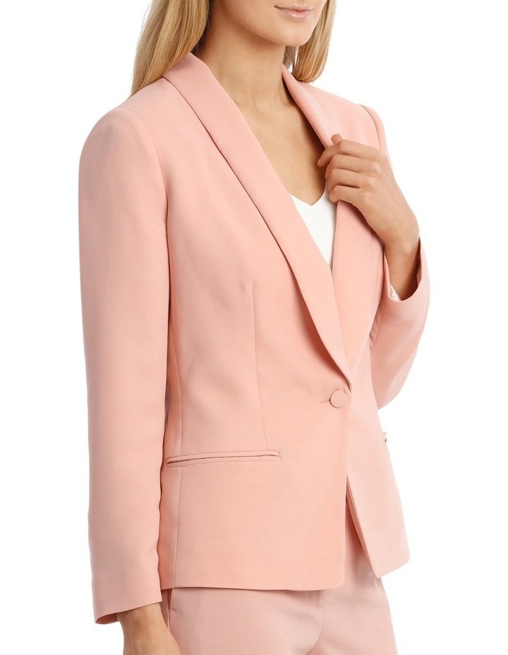 Single Button Tuxedo Jacket image 2