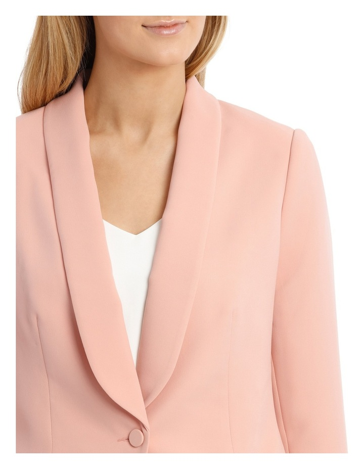 Single Button Tuxedo Jacket image 4