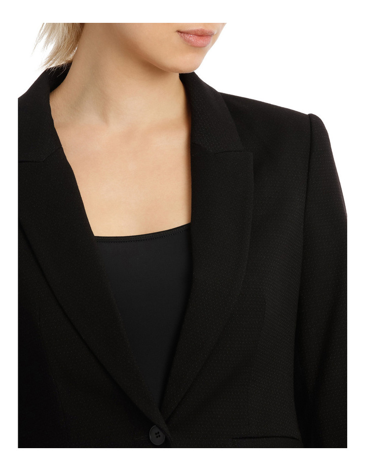 Peplum Prism Suit Jacket image 4