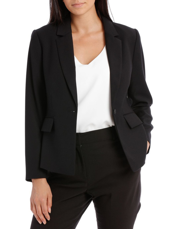 Textured Suit Jacket image 1