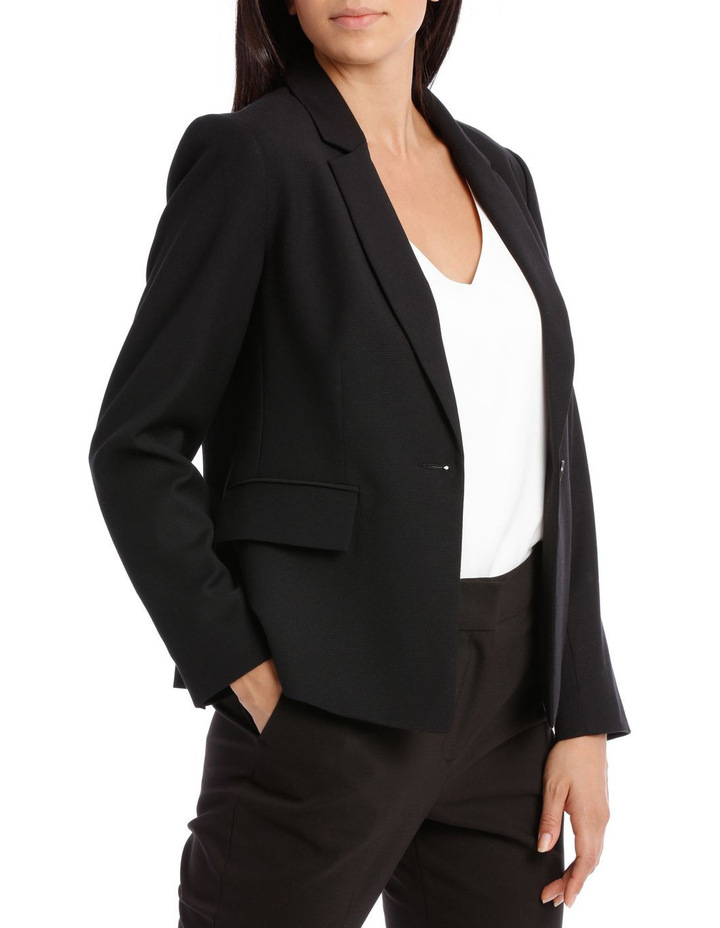 Textured Suit Jacket image 2