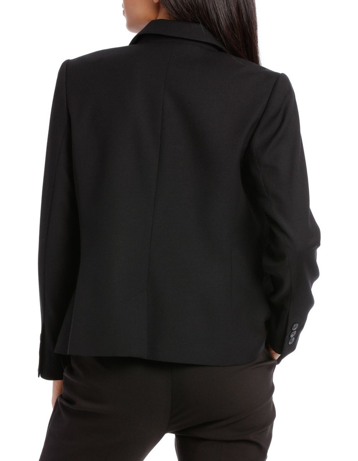 Textured Suit Jacket image 3