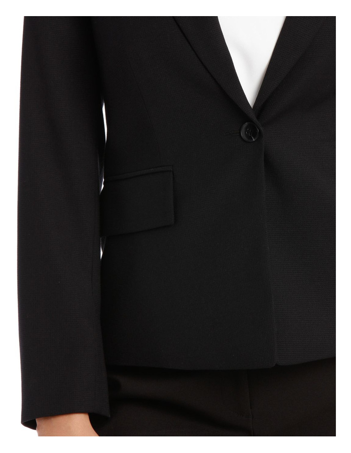 Textured Suit Jacket image 4