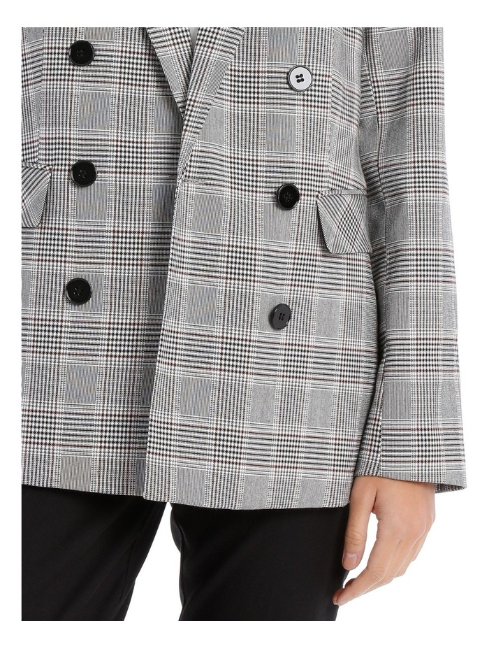 Double Breasted Check Blazer image 4