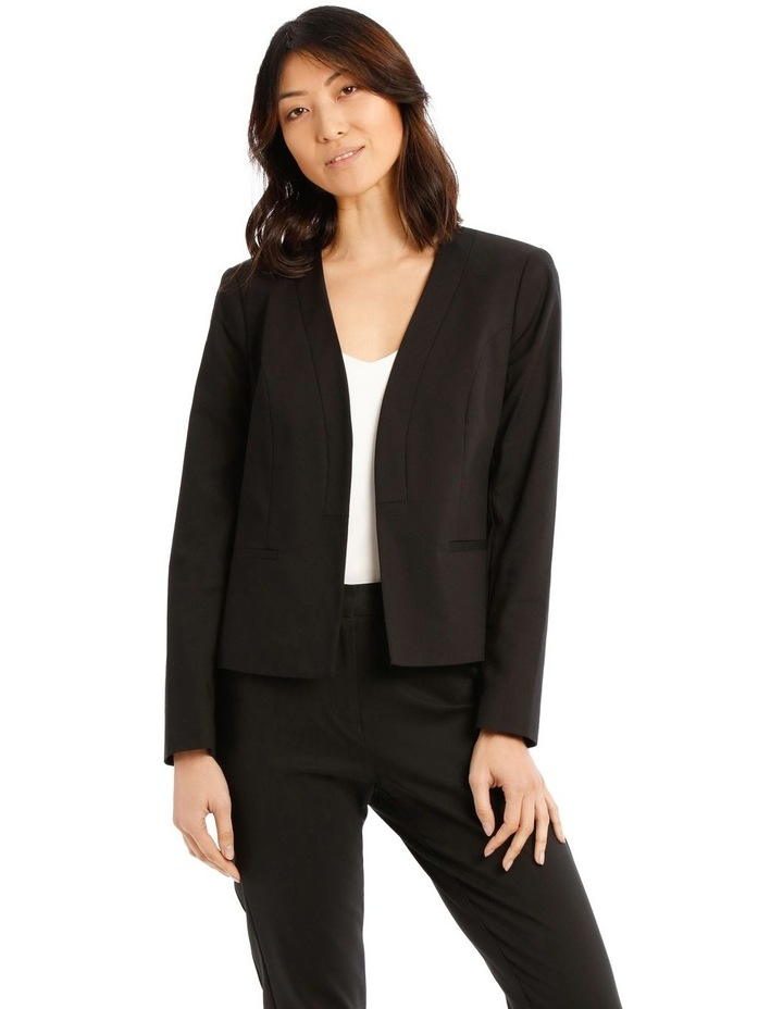 Olivia Cotton Sateen Jacket image 1