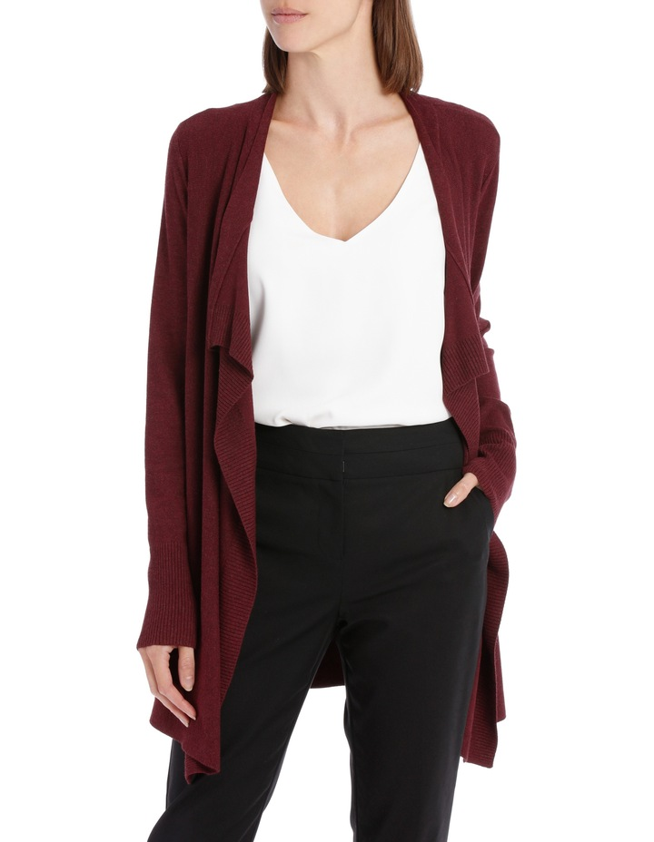 Essential Drape Front Cardigan image 1