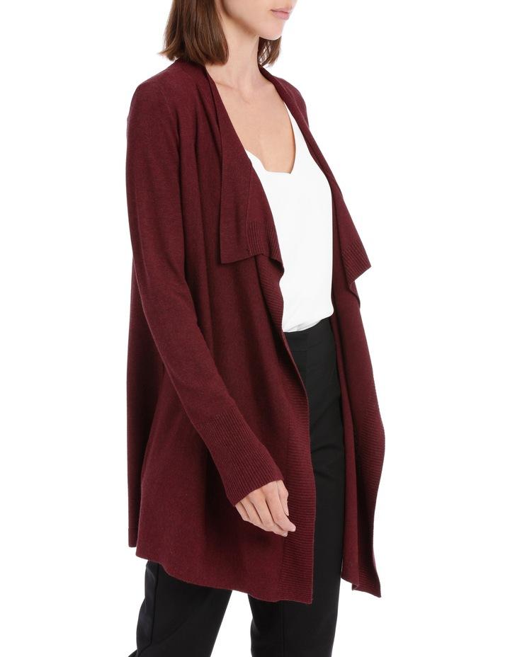 Essential Drape Front Cardigan image 2