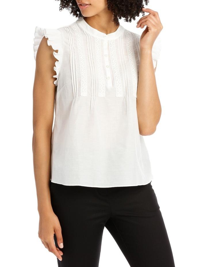 Plisse Silk Cotton Shirt image 1