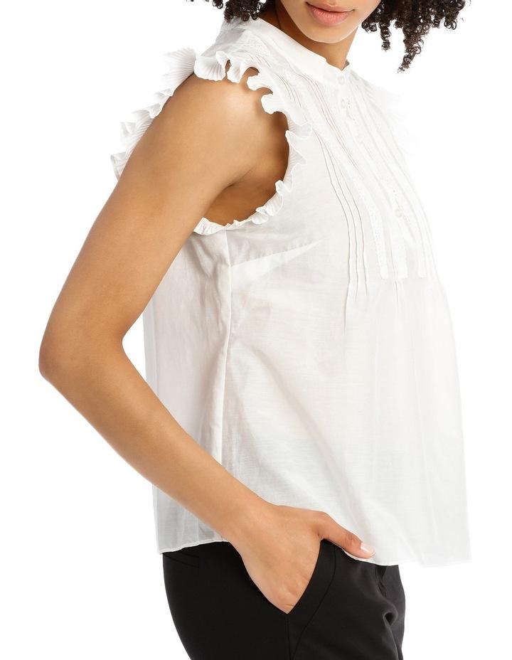 Plisse Silk Cotton Shirt image 2