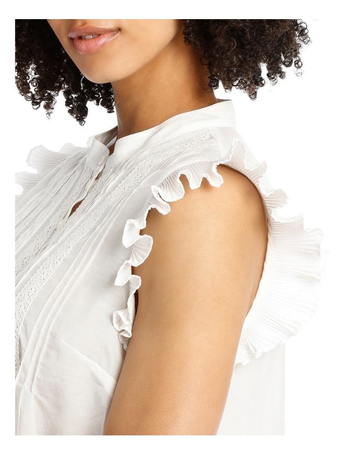 Plisse Silk Cotton Shirt image 4