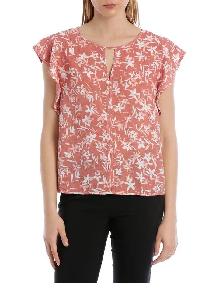 Must Have Crepe Frill Top image 1