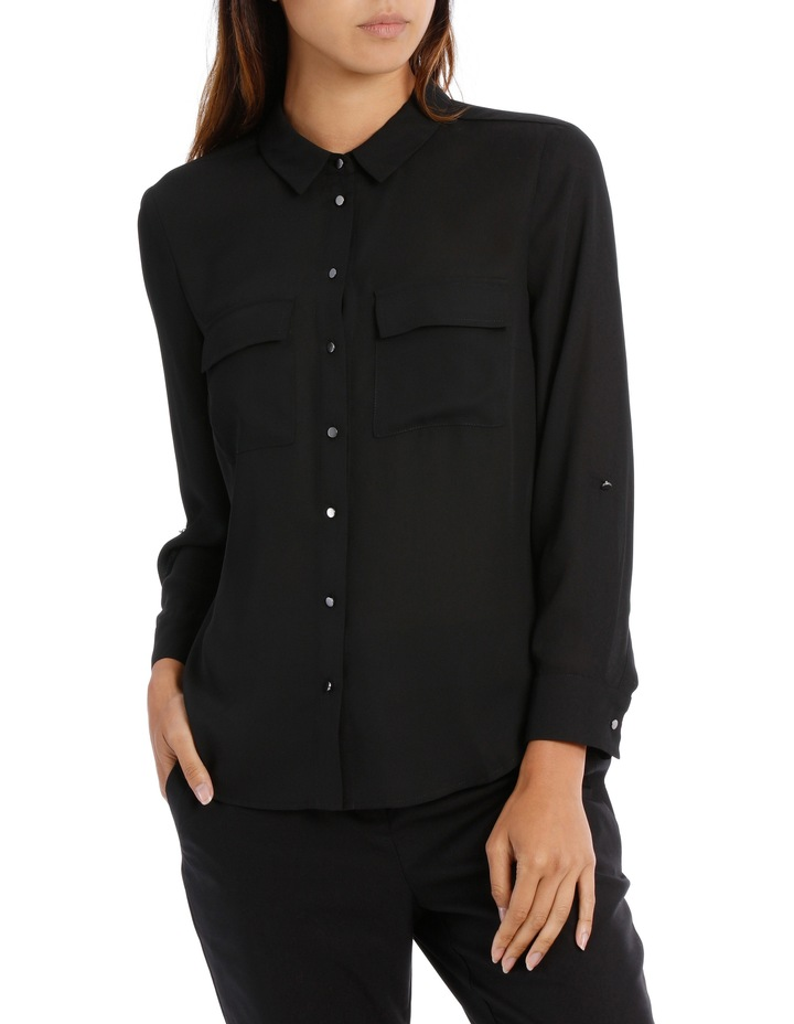Double Pocket Soft Shirt BW19001P image 1
