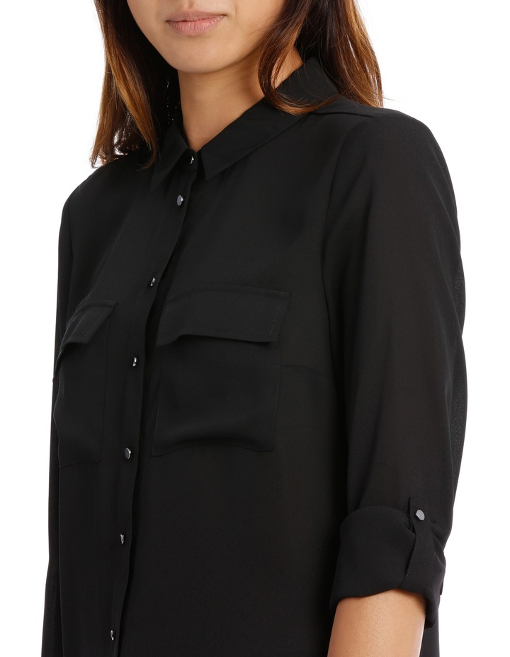 Double Pocket Soft Shirt BW19001P image 4