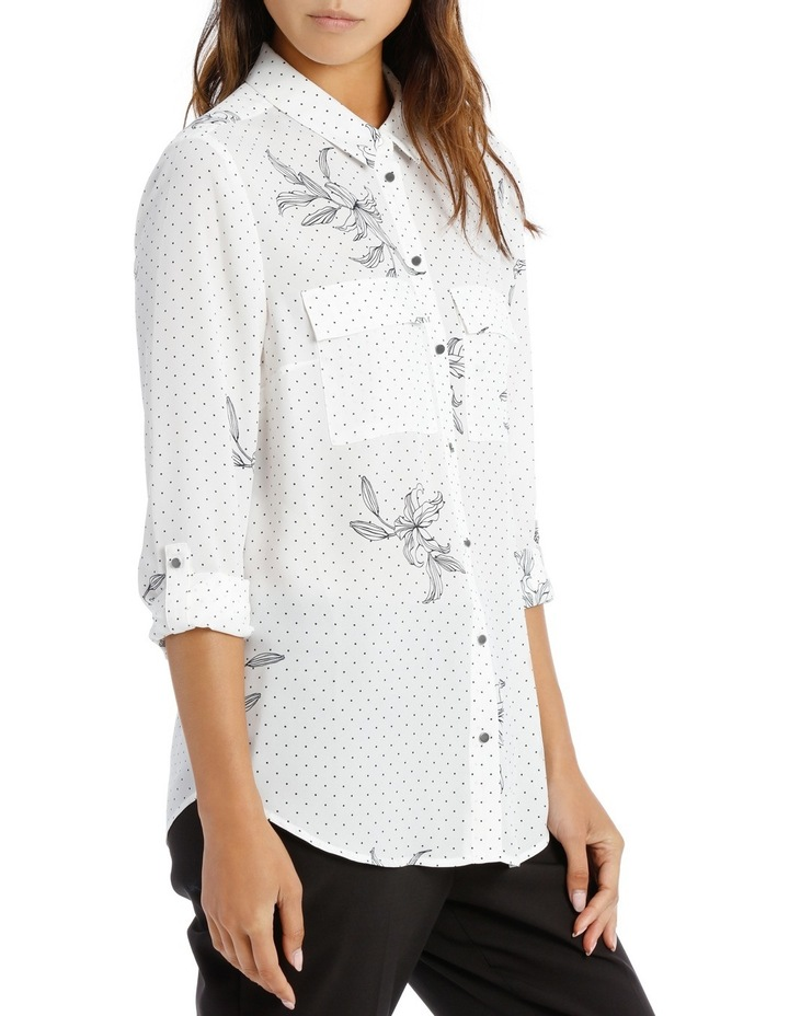 DOUBLE POCKET SOFT SHIRT PRINT image 2