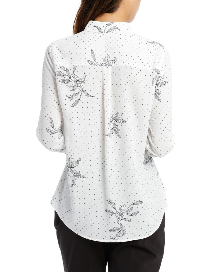 DOUBLE POCKET SOFT SHIRT PRINT image 3
