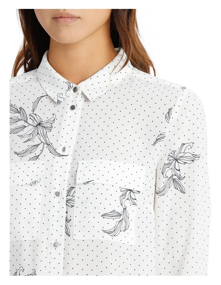 DOUBLE POCKET SOFT SHIRT PRINT image 4